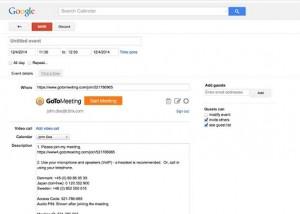 gotomeeting google extensie
